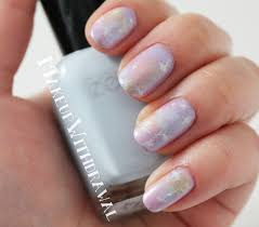 pastel galaxy nails with zoya lovely shades makeup withdrawal