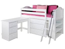 enchanting low loft bed with desk bedroom endearing maxtrix box 3