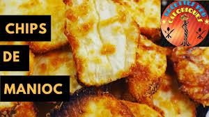 cuisiner manioc how to recette de chips de manioc cassava chips with