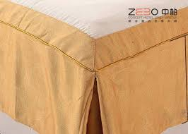 Bed Skirt With Split Corners Diy No Sew Drop Cloth Bed Skirt Fancy Collection Wrap Around