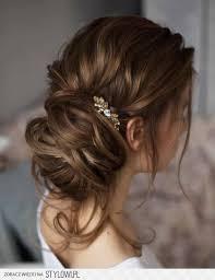 Hochsteckfrisurenen Unordentlich by 14 Besten Frisuren Bilder Auf Haarknoten