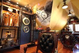 steampunk home decor imat the steampunk decorated home of bruce and melanie rosenbaum
