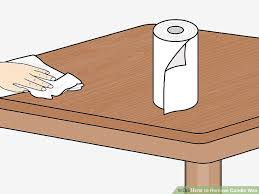 how to remove wax from wood table 4 ways to remove candle wax wikihow