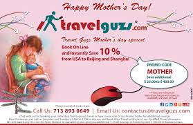 travelguzs offers mothers day special travelguzs deals