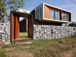 Modern Wooden Fence Design For Minimalist Home  Home Ideas - Home fences designs
