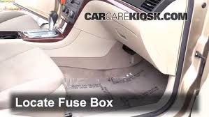 Seeking Fuse Interior Fuse Box Location 2007 2009 Saturn Aura 2008 Saturn