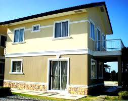 100 Sq Meters House Design Alexandra Single Attached House In Cavite Gobahay