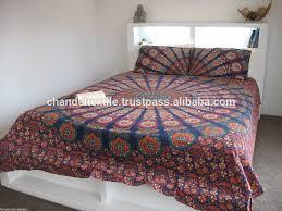 mandala tapestry comforter cover flat sheet and 2 matching