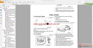 mitsubishi grandis 2004 2006 service manual auto repair manual