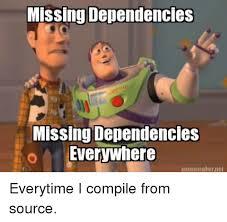 Everywhere Meme Maker - missing dependencies missing dependencies o everywhere meme maker