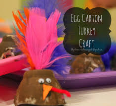 fine motor skills egg carton turkey craft for kids time