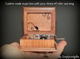 box personalized box personalized box musical box wooden box