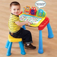 Baby Desk Toddler Activity Table Baby Kids Interactive Vtech Learning Desk