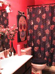day of the dead bathroom dia de los muertos pinterest sugar