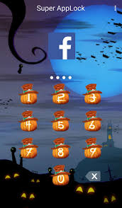 download applock theme halloween v1 4 for android