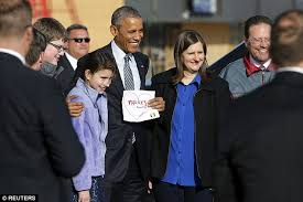 South Dakota how to travel with a suit images Barack obama meets rebecca 11 year old who convinced him to jpg