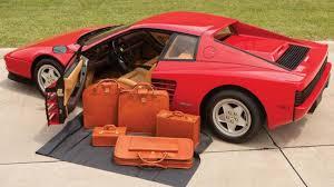 1989 testarossa for sale delivery mileage testarossa heads to auction autoweek