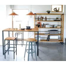 table de cuisine haute avec rangement cuisine avec table bar table cuisine haute table bar cuisine