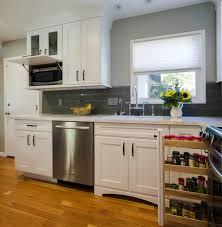 microwave cabinet depth