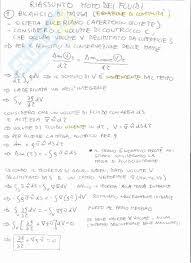 dispense meccanica dei fluidi dei fluidi e termocinetica t appunti