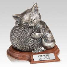 pet cremation urns cat urns a memorial cat cremation urn for your