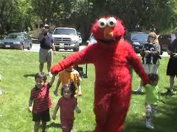 birthday party clowns for hire rent a kid s party character explorer or elmo for your
