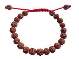 bracelet craft hand images Plain rudraksha wrist mala bracelet png