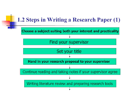 preparing a research paper basic steps in preparing a research paper solelybean gq
