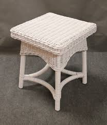 white wicker end table incredible all products jaetees wicker wicker furniture replacement