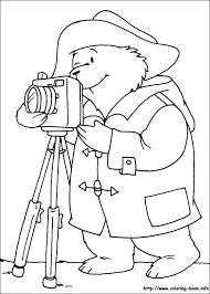 paddington bear colouring pages funycoloring