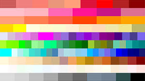 Color Code Flat Design