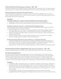 Strategic Planning Resume Resume U0026amp Lor All
