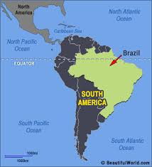 south america map equator map of brazil facts information beautiful world travel guide