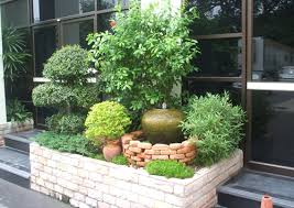 Small Landscape Garden Ideas Tropical Landscaping At The Office And Workplace Thai Garden Design