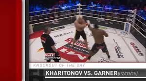 Challenge Knockout Knockout Of The Day Sergei Kharitonov Stops Kenny Garner At M 1