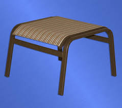 Sling Ottoman Outdoor Patio Furniture Paia Sling Line
