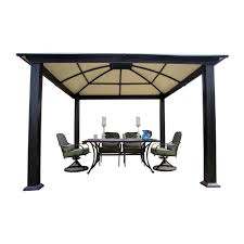 12 X 16 Gazebo Hardtop by Patio Gazebo Canopy Sheds Garages U0026 Outdoor Storage Storage