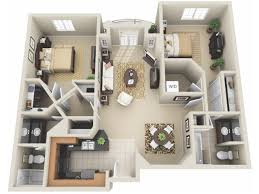 2 bed floor plans 2 bed 2 bath apartment in los angeles ca the preston miracle