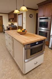 kitchen island with microwave drawer 31 smart kitchen islands with built in appliances digsdigs
