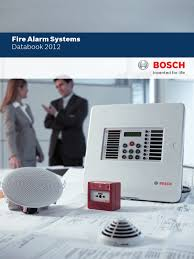 bosch fire alarm systems catalog 2012 security alarm equipment