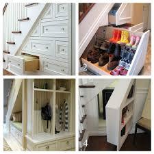 simple cheap storage understairs house media