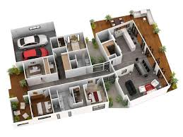 modern home with 3d dollhouse overview 3d home 3d home landscape