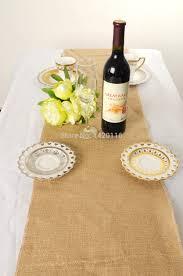 decor interesting burlap table runner for inspiring dining table