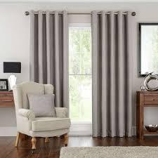 Curtain Pole Dunelm Hotel Naples Silver Lined Eyelet Curtains Dunelm
