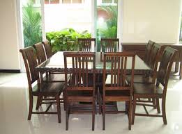 Amusing  Seat Dining Room Set  About Remodel Dining Room Table - Black dining table seats 10