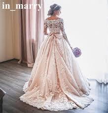 plus size blush wedding dresses discount blush pink sleeves lace wedding dresses 2017 a line