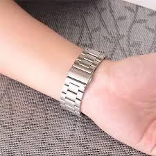 steel link bracelet images Top quality 316l stainless steel link bracelet for apple watch jpg