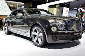 bentley mulsanne convertible 2015 bentley mulsanne speed revealed before 2014 paris debut