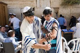bar mitzvah in israel bar mitzvah ritual at the wailing wall editorial image image of