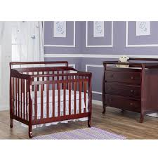 4 In 1 Crib With Changing Table Dream On Me 4 In 1 Portable Convertible Mini Crib Espresso